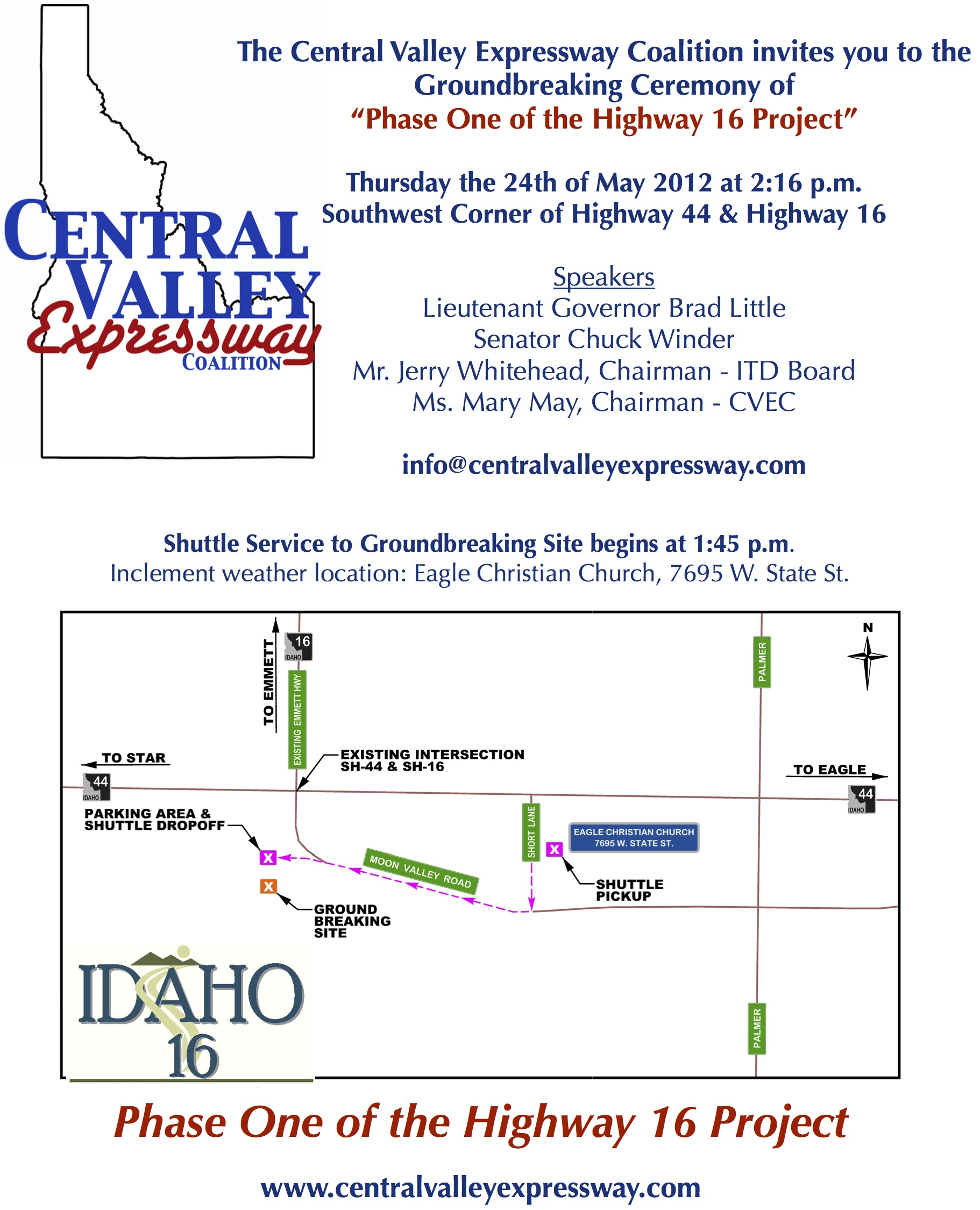 Central Valley Expressway Groundbreaking Ceremony